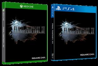 Confermate le copertine ufficiali di Final Fantasy XV