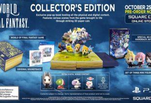 World of Final Fantasy: ecco la Collector's Edition
