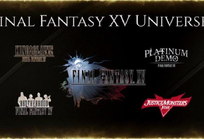 Final Fantasy XV Universe - Cronologia