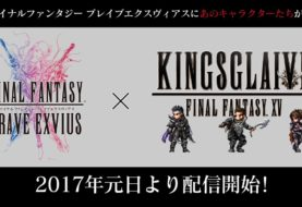 Kingsglaive Final Fantasy XV approda su Final Fantasy Brave Exvius