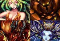 Final Fantasy Brave Exvius - Lista Esper
