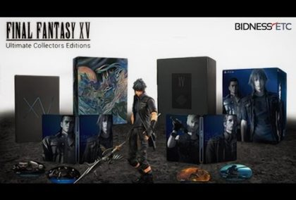 Unboxing Final Fantasy XV: Ultimate Collector's Edition