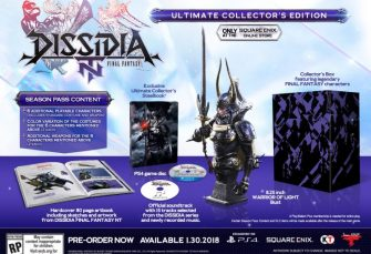 Data e collector's edition per Dissidia Final Fantasy NT