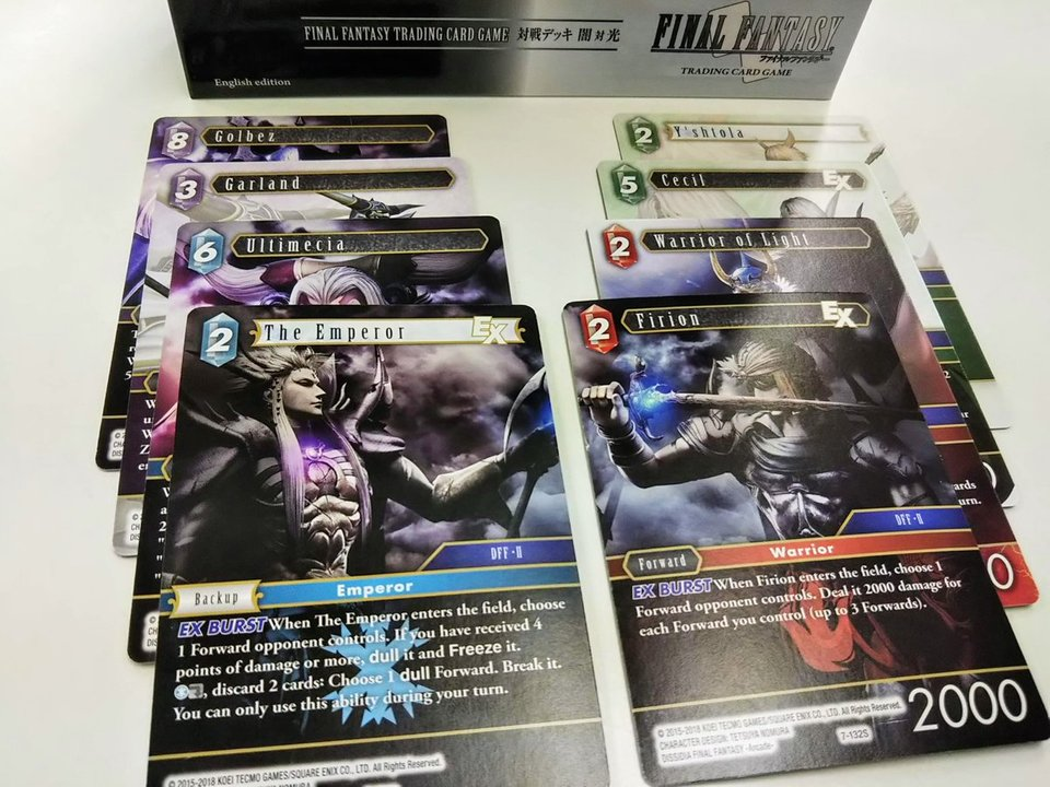 Final Fantasy TCG Villains & Heroes