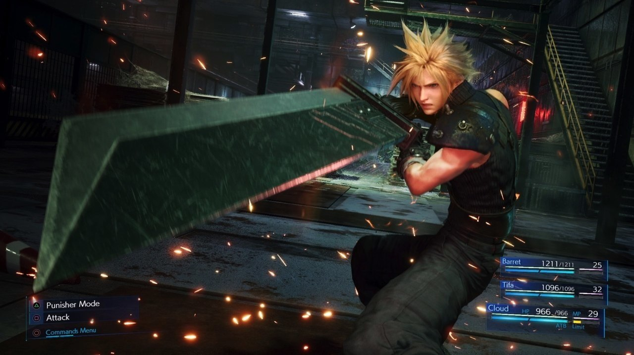 Final Fantasy VII Remake Cloud Limit