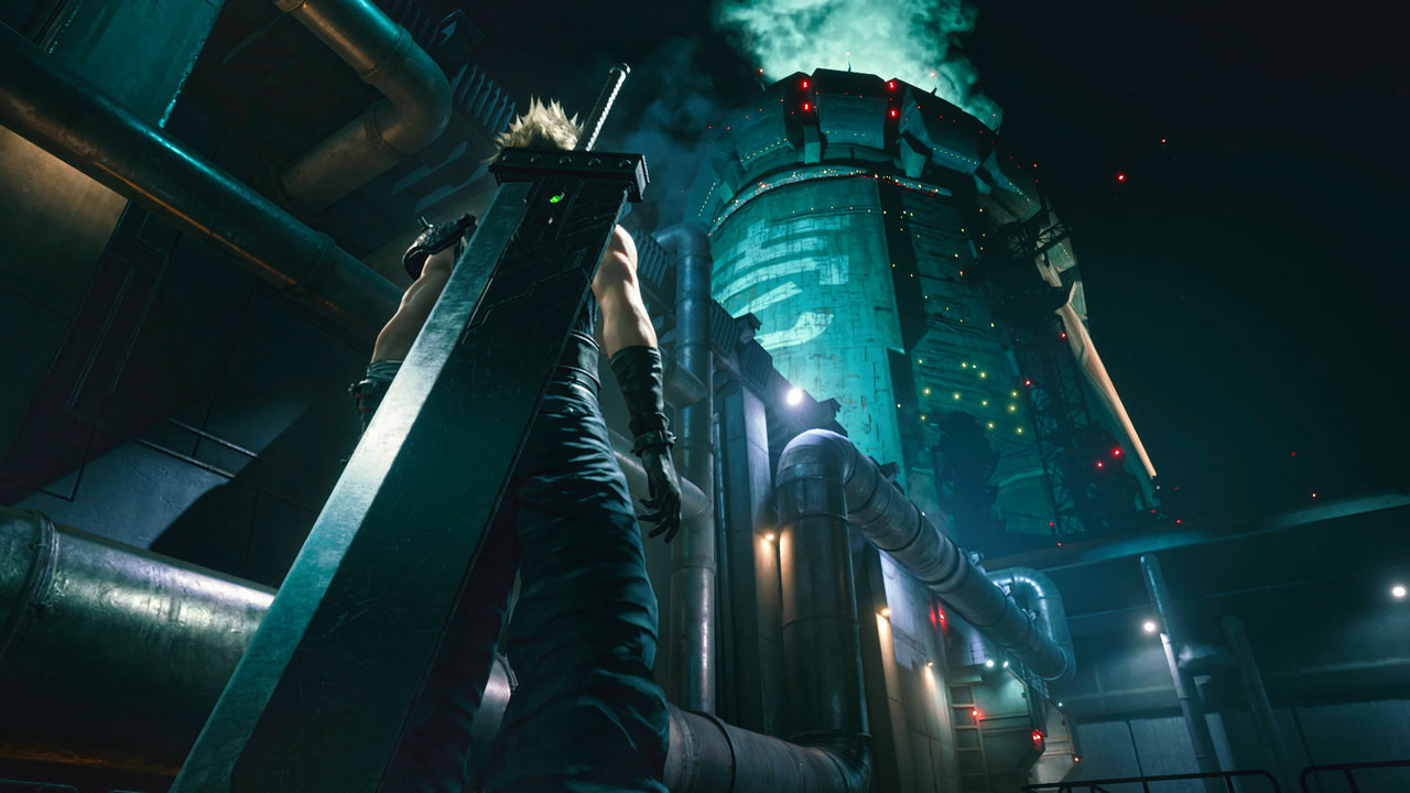 Final Fantasy VII Remake Cloud Shinra