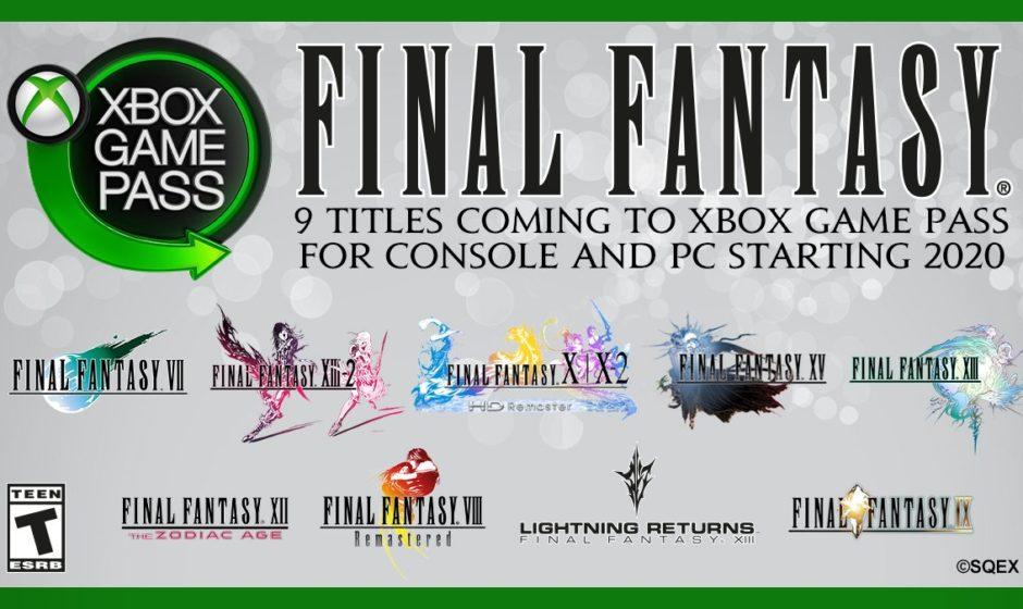 I Final Fantasy dal VII al XV saranno inclusi nel Xbox Game Pass