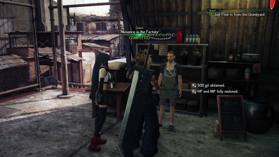 FFVII Remake: nuovi dettagli su personaggi, missioni secondarie ed evocazioni